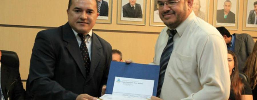 Missionário da CBSM recebe título de cidadão Murtinhense