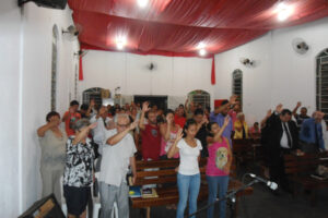 Missão do Portal Caiobá transformada em Igreja