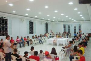 IB Manancial de Coxim, levando mensagem da salvação