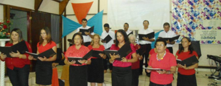 Nas Moreninhas, IB Nova Aliança comemora oito anos de organização