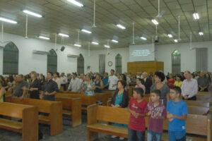 Quatro igrejas de CG comemoram aniversário em fevereiro