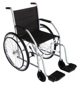 Cadeira de Rodas Pneu Maciço