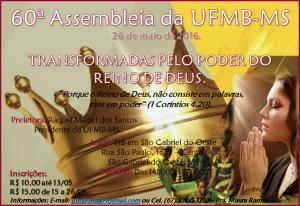 chamada para Assembléia da UFMB-MS