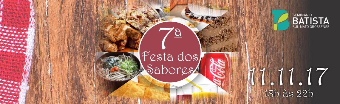 Banner Festa dos Sabores