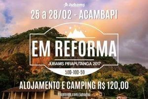 RETIRO DA JUBAMS @ Acampamento Batista em Piraputanga