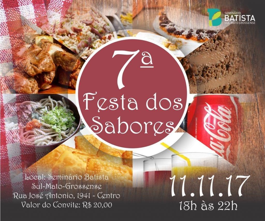 Festa dos Sabores @ Seminário Batista Sul-Mato-Grossense | Mato Grosso do Sul | Brasil