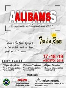 Congresso e Assembleia da ALIBAMS @ Missão Batista em Selvíria   Mato Grosso do Sul   Brasil