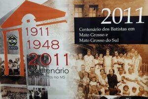 Primeira Igreja Batista de Corumbá completa 109 anos de organização