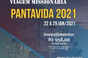 Viagem Missionária Pantavida 2021