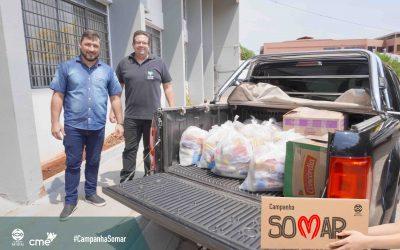 PROJETO SOMAR: Primeiras doações